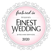 Featured in Arizona's Finest Wedding Sites and Services, 2020