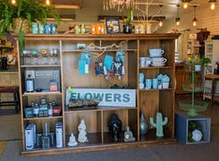 In addition to flowers and plants, Allan's offers a broad range of gifts
